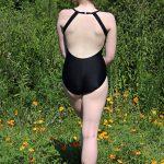 Alexi Classic Black Leotard | Ballet Class Leotard