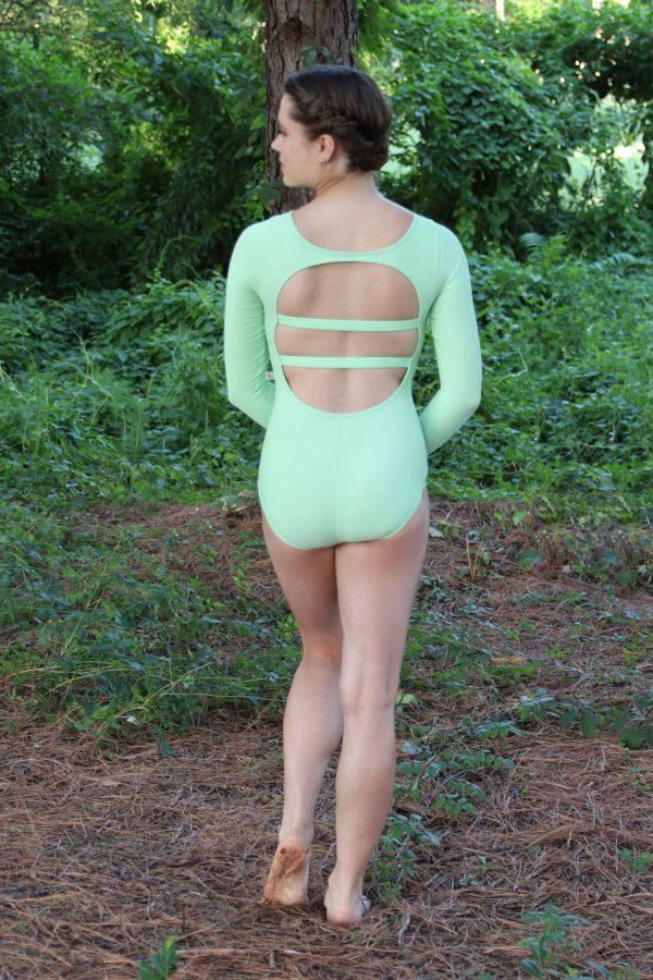 Chevelli Green Leotard