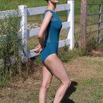Kristen Bold Contemporary Leotard in Mallard
