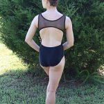 Lydia Black Leotard | Ballet Leotard