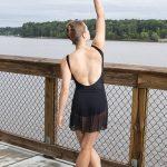 Nicole Skirt Black | Ballet Skirt