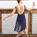 Nicole Elegant Navy Skirt Long | Ballet Skirt