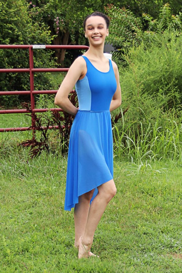 Nicole Long Skirt in Royal Blue