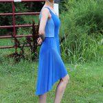 Nicole Long Ballet Skirt | Royal Blue