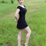 Nicole Skirt Athletic Mesh | Black Dance Skirt