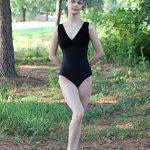 Riley Black Velvet Leotard | Classic Leotard