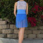 Nicole Best Selling Dance Skirt Periwinkle