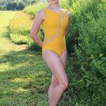 Savannah Gold Leotard