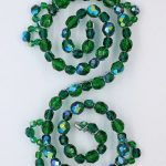 Beaded Hairpiece | Emerald Green Hairpiece
