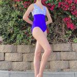 Exclusive Childhood Cancer Fundraiser | Riley Purple Leotard