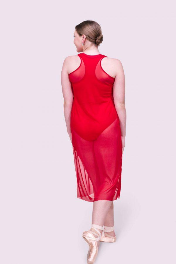 Tonya Crimson Dress