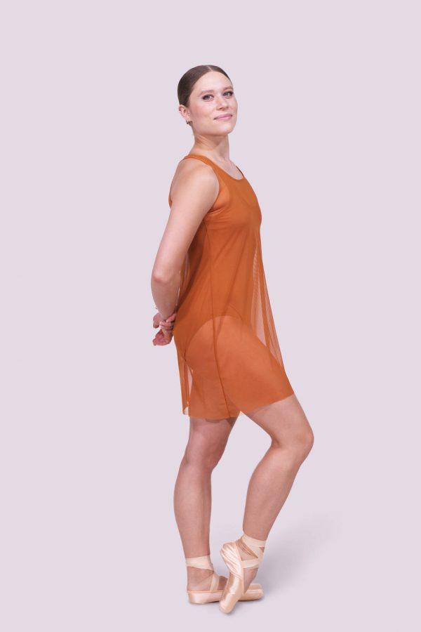 Tonya Copper Dress