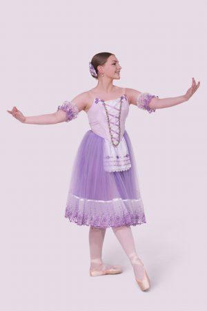 Lilac Romantic Tutu | Peasant Costume RTW